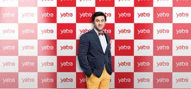Yatra Appoints Bollywood Actor Ranbir Kapoor as Brand Ambassador