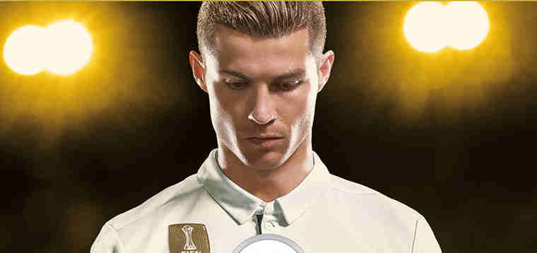Cristiano Ronaldo Named Cover Star for EA SPORTS FIFA 18
