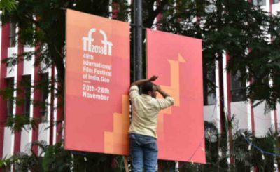 Goa prepares to welcome the 49th International Film Festival of India (IFFI-2018), in Panaji, Goa on November 19, 2018. Photo: PIB